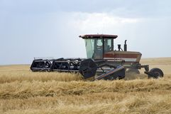 Swather Stock Photo