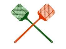 Swatters de mosca foto de stock