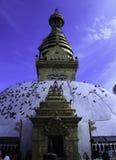Swayabhunath Kathmandu Obraz Stock