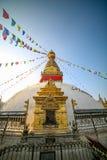 Swayambahunath Stupa stockbild