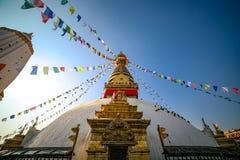 Swayambahunath Stupa lizenzfreie stockfotos