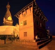 Swayambhu pagoda,Kathmandu Valley Stock Image