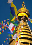 Swayambhu Stupa, Κατμαντού, Νεπάλ 3 Στοκ φωτογραφία με δικαίωμα ελεύθερης χρήσης
