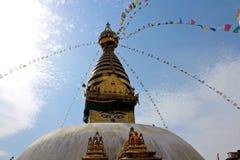 Swayambhu stupa Fotografia Royalty Free