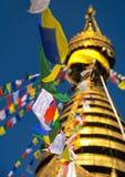 Swayambhu Stupa, Katmandu, Nepal 3 Royaltyfri Fotografi
