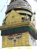 Swayambhu Temple, Kathmandu, August 2011 Stock Images