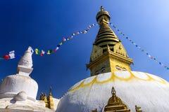 Swayambhunath,尼泊尔 免版税库存图片