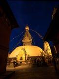 Swayambhunath świątynia w Kathmandu Nepal Zdjęcie Royalty Free