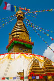 Swayambhunath Stock Photography