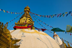 Swayambhunath immagine stock libera da diritti