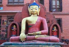 Swayambhunath在尼泊尔。 库存图片