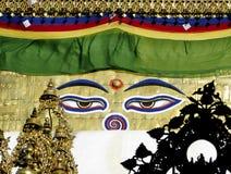 Swayambhunath fotos de archivo