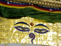 Swayambhunath fotos de archivo libres de regalías