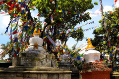 Swayambhunath Lizenzfreies Stockbild