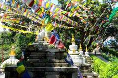 Swayambhunath Arkivfoton