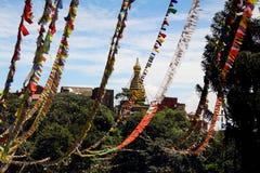 Swayambhunath Arkivbild