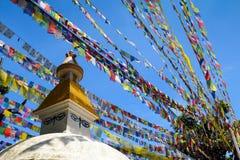 Swayambhunath Obraz Stock