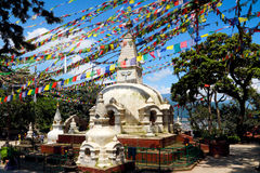 Swayambhunath Royaltyfria Bilder