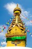 Swayambhunath Stockbilder
