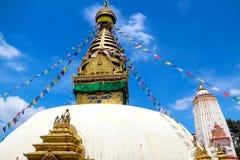 Swayambhunath Imagenes de archivo
