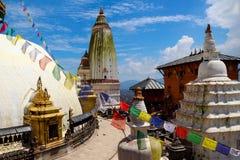 Swayambhunath Stockbild