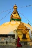 Swayambhunath Immagini Stock Libere da Diritti