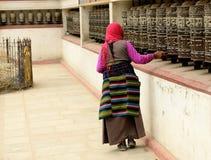 Swayambhunath-Affe-Tempel, Kathmandu, Nepal Lizenzfreie Stockbilder