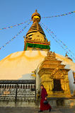 Swayambhunath Royalty Free Stock Images