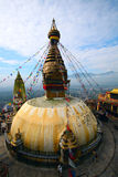 Swayambhunath Monkey Temple nepal Royalty Free Stock Image