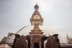 Swayambhunath o marco icônico de Kathmandu imagem de stock royalty free