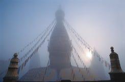 Swayambhunath Stupa,尼泊尔 免版税库存图片