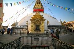 Swayambhunath Stupa fotos de archivo libres de regalías