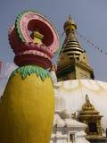 Swayambhunath Stupa. In Kathmandu. Nepal stock images