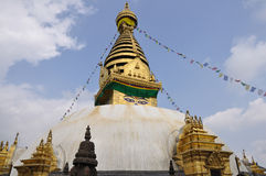Swayambhunath Stupa Royalty Free Stock Photo