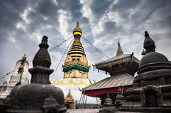 Swayambhunath Stupa Photographie stock
