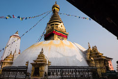Swayambhunath Stupa Fotografia Stock Libera da Diritti
