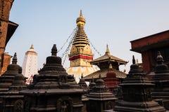 Swayambhunath Stupa Stockfotos