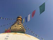 Swayambhunath Stupa, Affe-Tempel, in Kathmandu, Nepal Stockbild