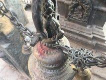Swayambhunath Stupa, Affe-Tempel in Kathmandu, Nepal Lizenzfreie Stockbilder