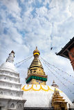 Swayambhunath stupa Royalty Free Stock Photography