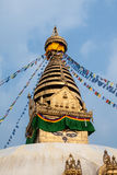 Swayambhunath Stupa Royalty Free Stock Photos