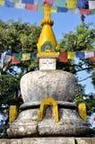 Stupa in Swayambhunath Lizenzfreie Stockfotos