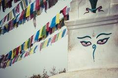 Swayambhunath stupa in Kathmandu, Nepal Stock Image