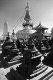 Swayambhunath stupa - Kathmandu - Nepal Stock Photo