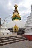 Swayambhunath stupa, Kathmandu, Nepal Stock Images