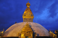 Swayambhunath Stupa, Népal Photographie stock libre de droits