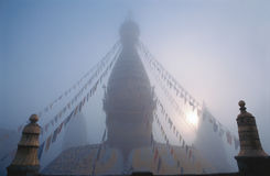 Swayambhunath Stupa, Nepal Royalty Free Stock Images
