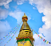 Swayambhunath Stupa Royalty Free Stock Images