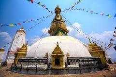 Swayambhunath Stupa Royalty Free Stock Image