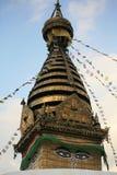 swayambhunath stupy fotografia royalty free